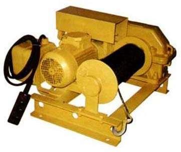 купить надежную промышленную электролебедку 350 кг 380В