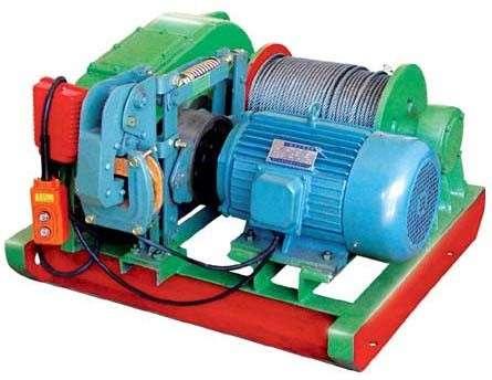 заказать тяговую электролебедку промышленного исполнения  1 тн