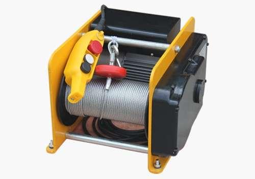 купить надежную лебедку электрическую 500 кг недорого
