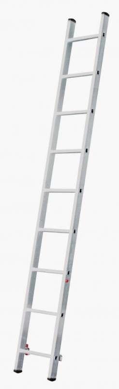 Лестница приставная  1х8 алюминиевая по оптовой цене