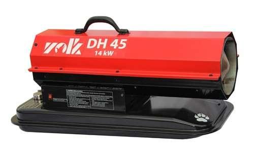 нагреватель дизельный без дымоотвода DH-45