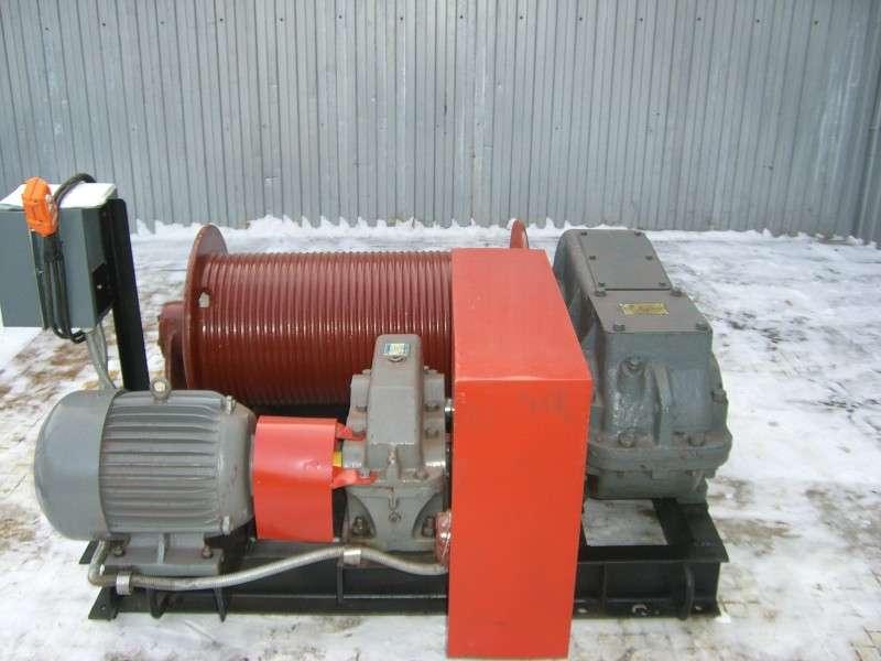 купить надежную монтажную электролебедку 5 тн на заводе