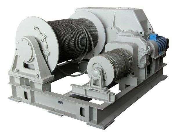 лебедка электрическая барабанная ЛЭМ-10