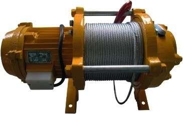 лебедка электрическая KCD-500 (380) 100 м