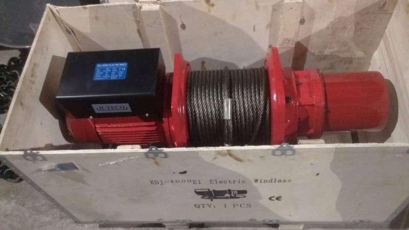 купить надежную лебедку электрическую KDJ-500 недорого у производителя