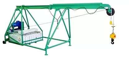 подъемник строительный Умелец 500 кг (кран в окно)