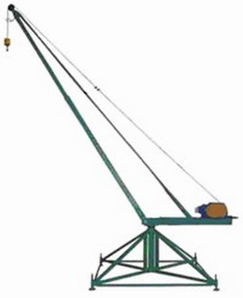 кран стреловой поворотный КСП-320 (Пионер)