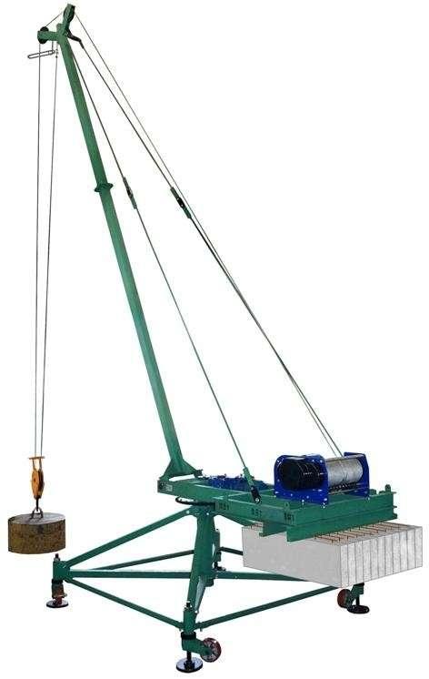 кран стреловой поворотный КСП-1000 (Пионер)