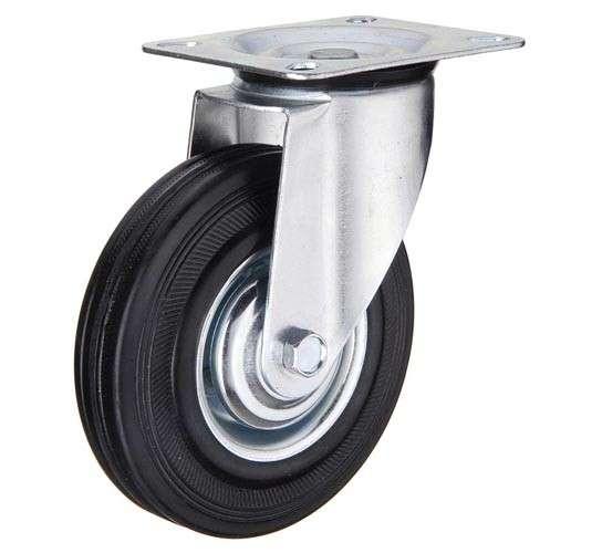 купить колесная опора промышленная поворотная 250 мм недорого