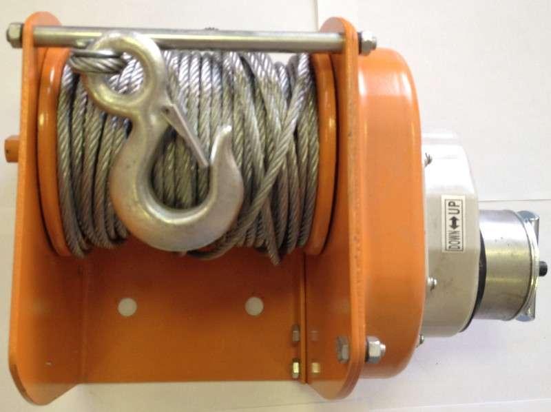 купить качественную надежную барабанную канатную лебедку г/п до 500 кг