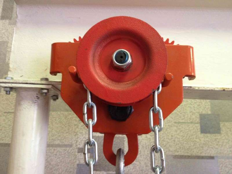 механизм передвижения тали (каретка) 1 тн