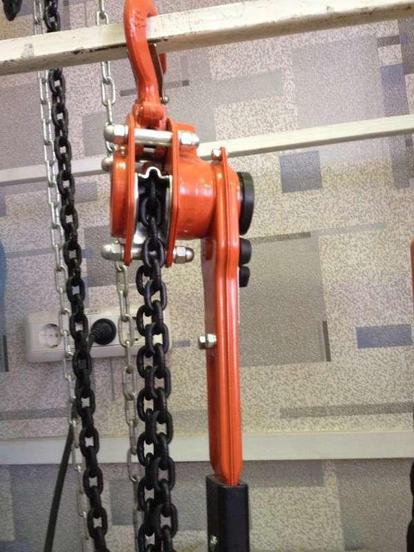 таль цепная с рычагом 0. 5 тн высота подъема 6 метров