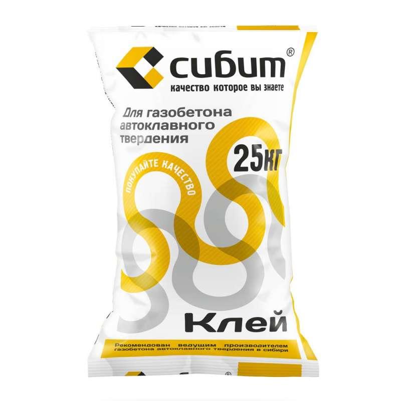 Клей для газобетона Сибит 25 кг