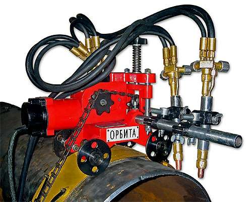 Машина для газовой резки Орбита-РМ - доставка