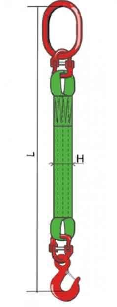 Строп 1 СТ 1 тн L - 5 м изготовление