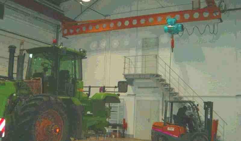 Кран мостовой подвесной 5 тн 9 м купить