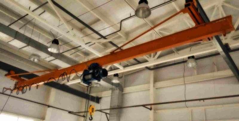 Кран мостовой подвесной 6.3 тн 9 м заказать