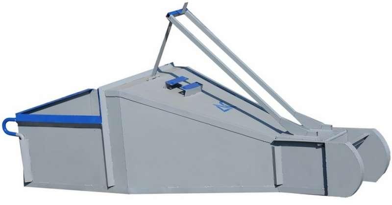 """Бадья для бетона """"Туфелька"""" 2,5 м.куб. рычажный привод купить"""