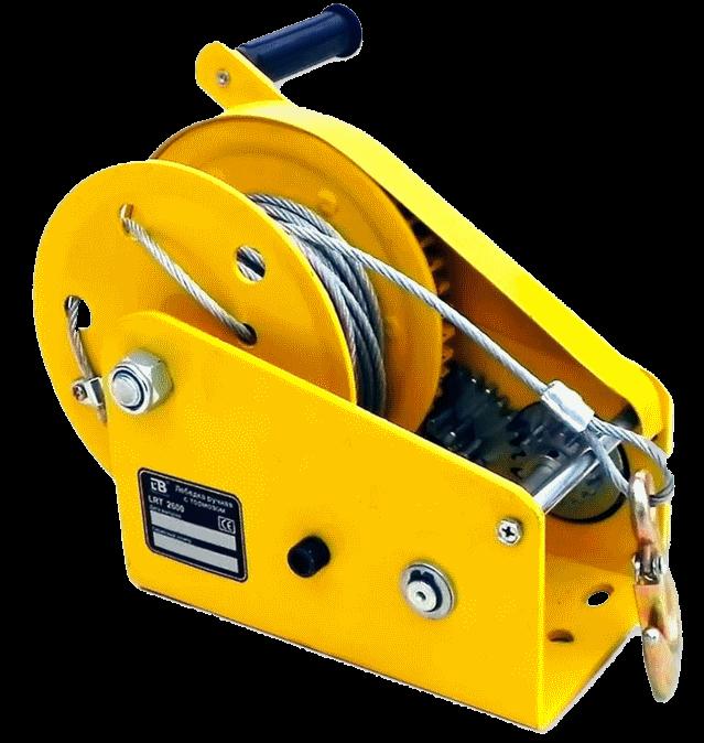 Лебедка ручная LRT 500  (тормоз) лента