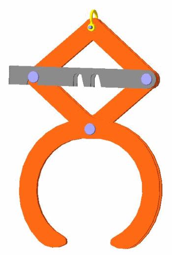 Захват для пачек металлопроката 2NK4-0.2