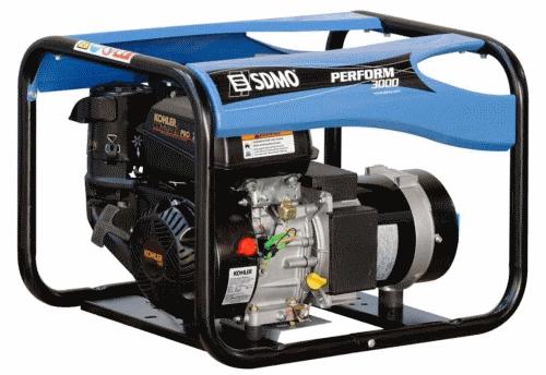 Генератор бензиновый SDMO PERFORM 3000 дешево