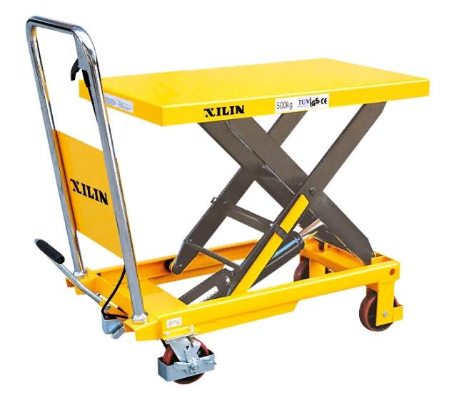 Стол подъемный передвижной XILIN 500 кг 280-900 мм