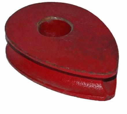 Коуш вантовый 26 мм DIN 3091
