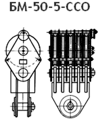 Блок монтажный БМ-50 купить