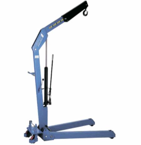 Кран гидравлический HWK KLS 500 кг
