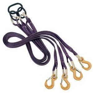 Текстильные стропы петлевые, кольцевые, ветвевые