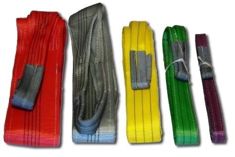Область применения текстильных строп