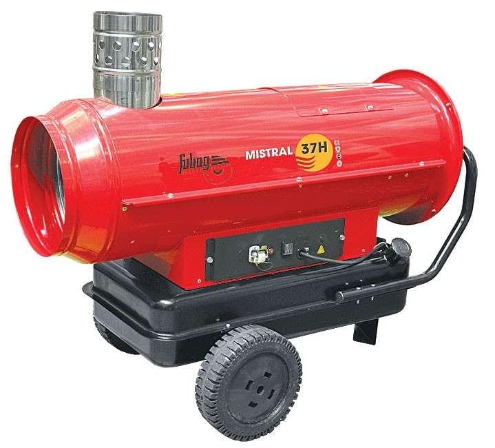 нагреватель дизельный с дымоотводом Mistral 37 Н