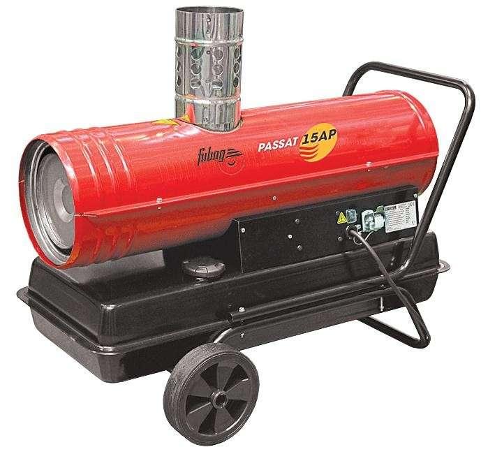 Нагреватель дизельный с дымоходом Passat 25 АР