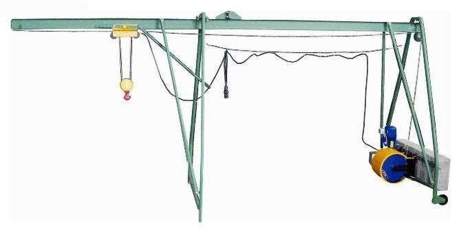подъемник строительный Умелец 320 кг (кран в окно)