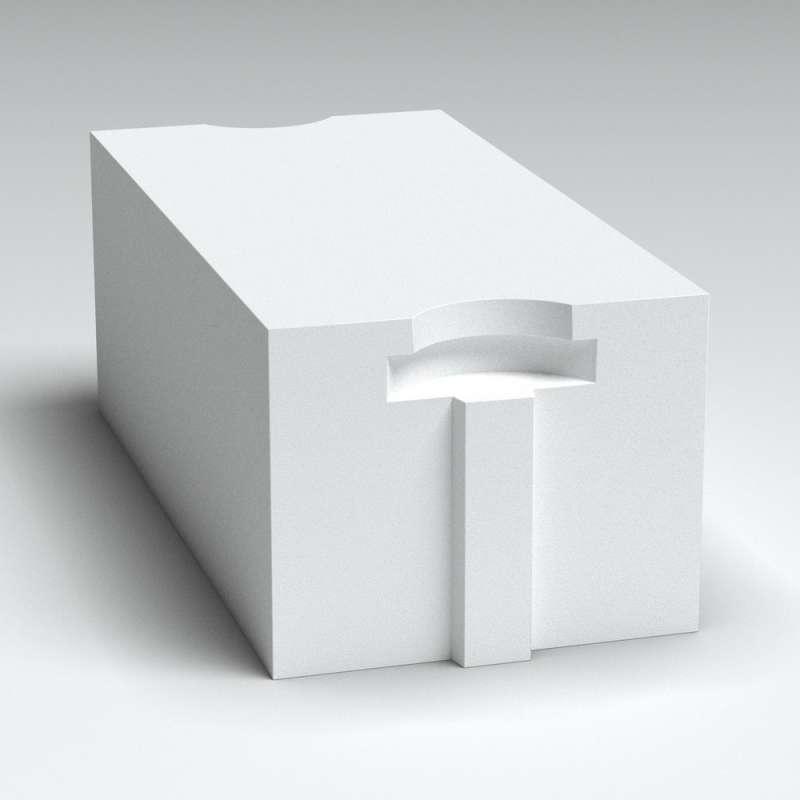 Блок стеновой из газобетона Б3 D500/B2.5