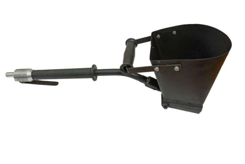 Штукатурный хоппер-ковш из окрашенной стали SN-01
