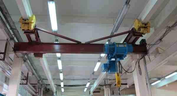 Кран мостовой подвесной 1 тн пролет 15-18 м купить