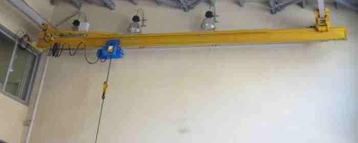 Кран мостовой подвесной 2 тн 9 м