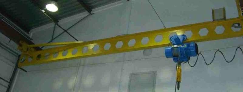 Кран мостовой подвесной 3,2 тн 15-18 м купить